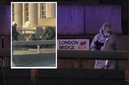 Ataque con cuchillo en Londres