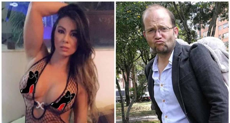 Esperanza Gómez y Daniel Samper