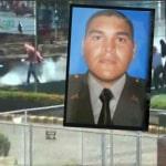 Policía herido con papa bomba