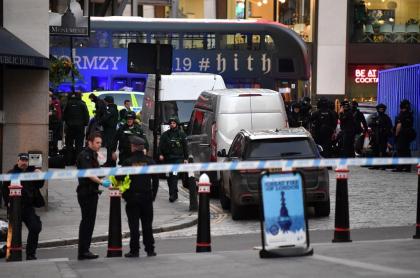 Ataque terrorista en puente de Londres