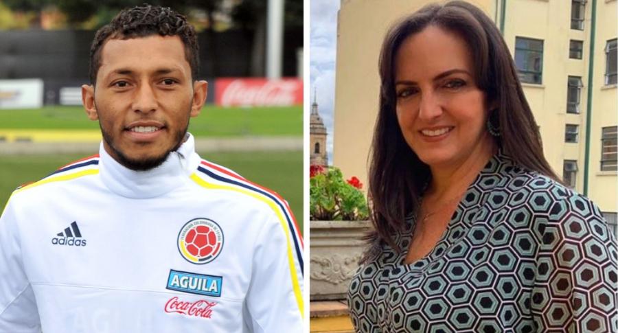 Carlos Valdés y María Fernanda Cabal