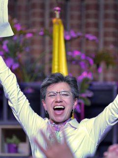 Las fichas que ya tiene listas Claudia López para gobernar el año entrante
