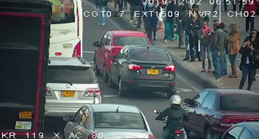 Accidente en Bogotá