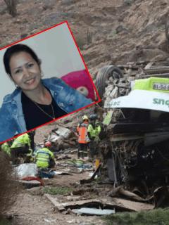 Yuri Granobles, colombiana fallecida en accidente en Chile