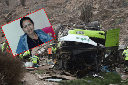 Yuri Granobles, colombiana fallecida en accidente en Chile