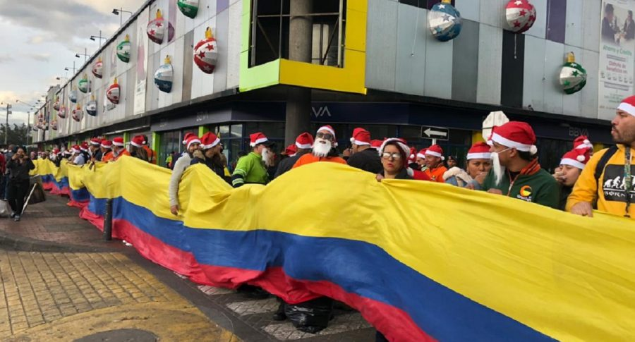 Comerciantes en Bogotá