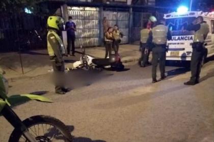 Guarda de tránsito asesinada