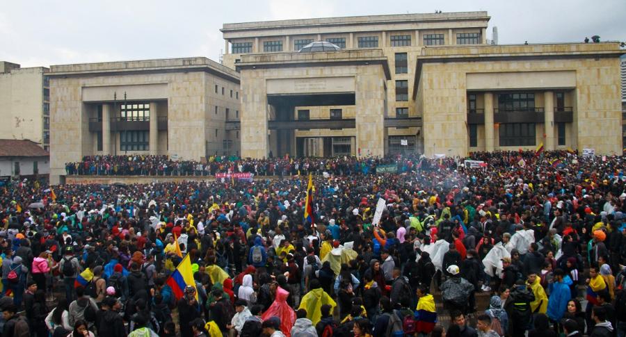 Marchas en paro nacional