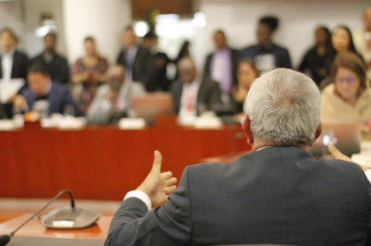 Discusión en Cámara de Representantes