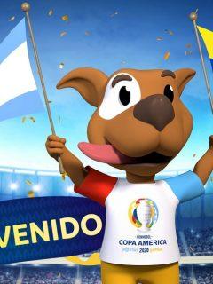 Nada de marcianos: un perro con nombre argentino será la mascota de la Copa América 2020