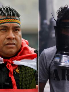 Advertencia de indígenas: esto les pasará a los encapuchados que se metan a la marcha hoy