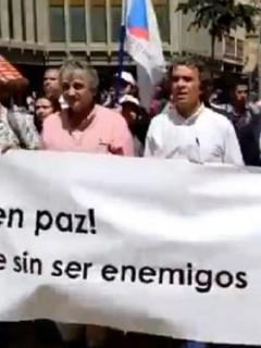 [Video] Fajardo dejó tibieza y salió a marchar: apoya protesta y mete presión a Duque
