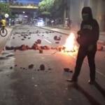 Disturbios en Bucaramanga.