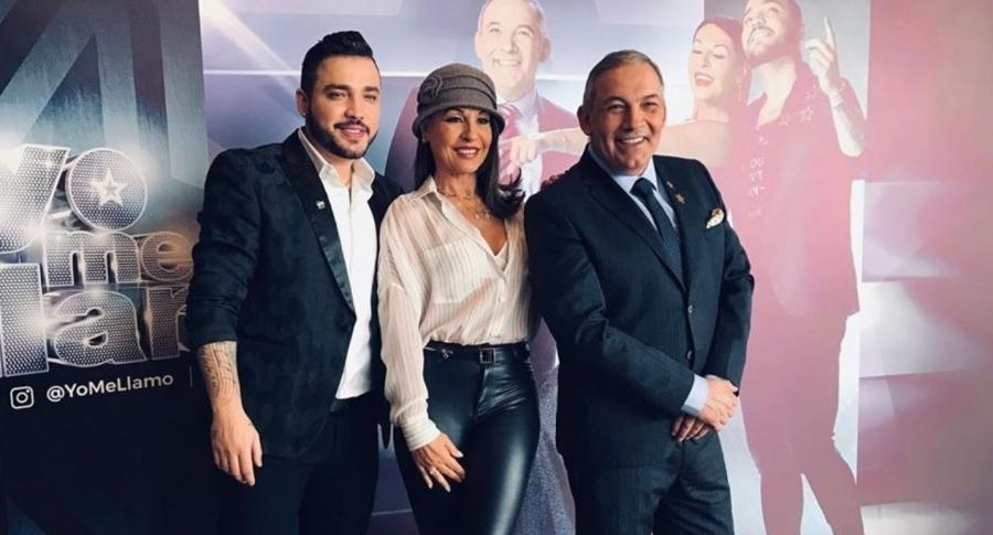 Jessi Uribe, Amparo Grisales y César Escola