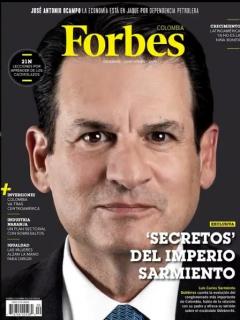 La revista Forbes estrena su edición colombiana con Luis Carlos Sarmiento G. en portada