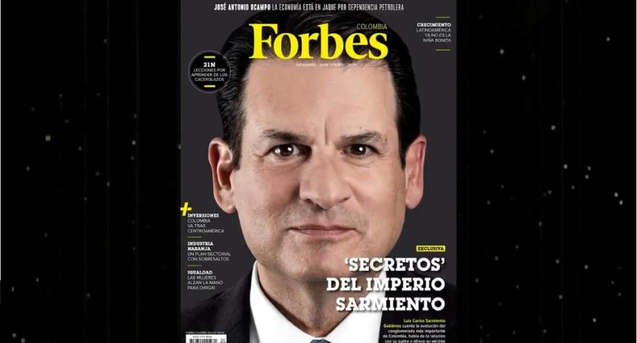 Primera edición de Forbes Colombia