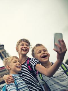 Niños en Instagram y redes sociales