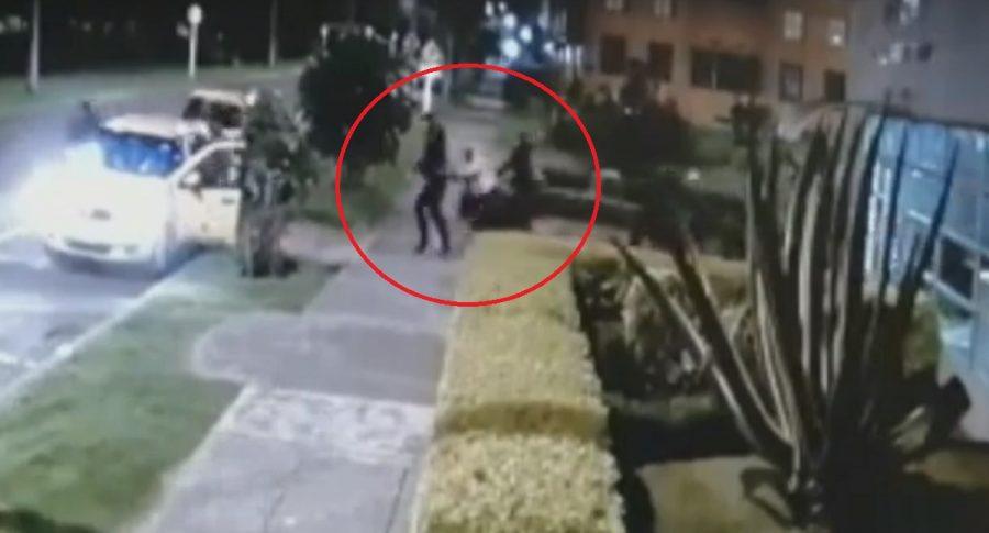 Robo en Bogotá