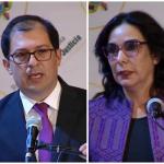 Francisco Barbosa, Clara María González y Camilo Gómez Álzate
