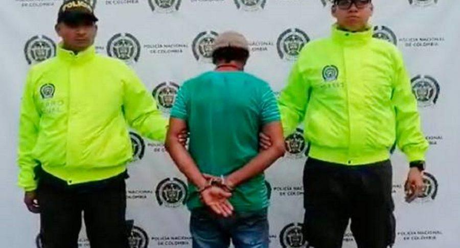 Captura de presunto violador