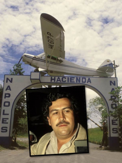 Revelan foto (desconocida) de los lujosos muebles Luis XV que tenía Pablo Escobar