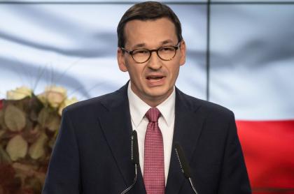 Primer ministro de Polonia, Mateusz Morawiecki.