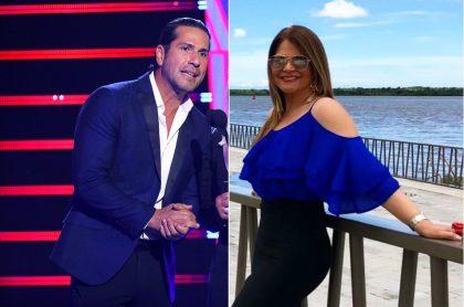 Gregorio Pernía, actor, y Diva Jessurum, presentadora.