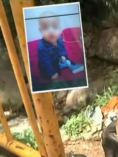 Ladrón que robó dinero en una casa también se llevó un bebé, y lo lanzó en basurero