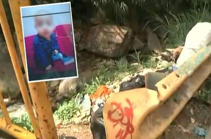 Bebé robado en Medellín