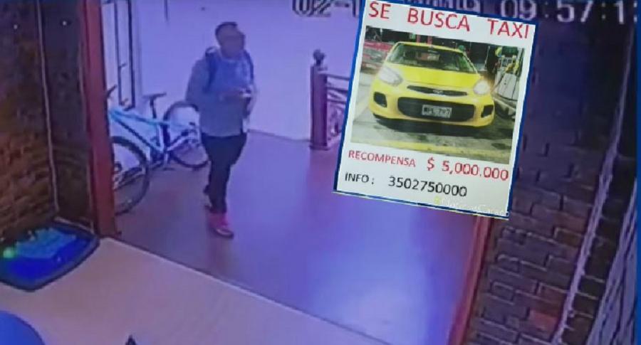 Roban taxi en Bogotá
