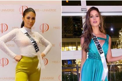 Gazini Ganados (Filipinas) y Gabriela Tafur (Colombia)