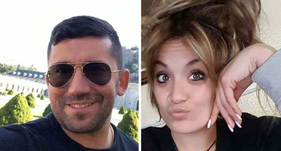 Jorge Ignacio Palma y Marta Calvo