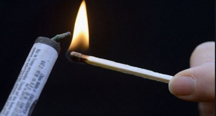Uso de pólvora