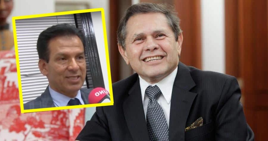 Reinaldo Huertas y Carlos Mattos