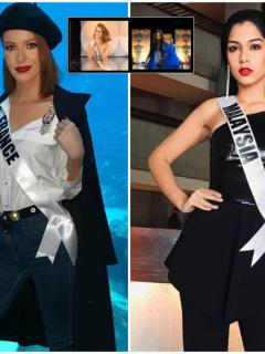 [Videos] Los dos totazos que ya se vieron en Miss Universo… ¡en vestido de baño!