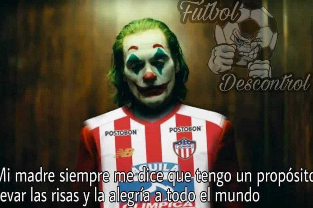 Meme Joker junior de Barranquilla