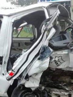 2 hinchas de América mueren en grave accidente de tránsito, que deja más de 10 heridos