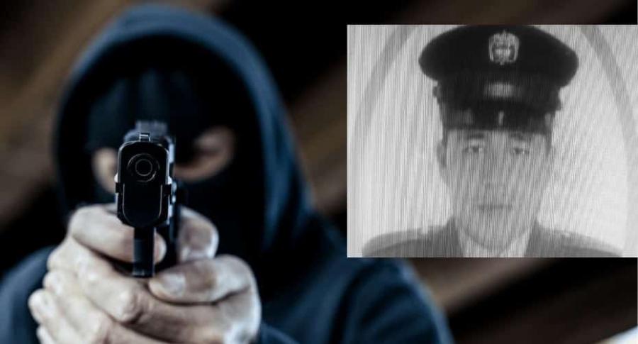 Policía asesinado en Turbaco