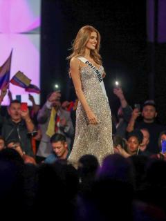 Se termina Miss Universo para Colombia; Gabriela Tafur llegó hasta las 5 finalistas