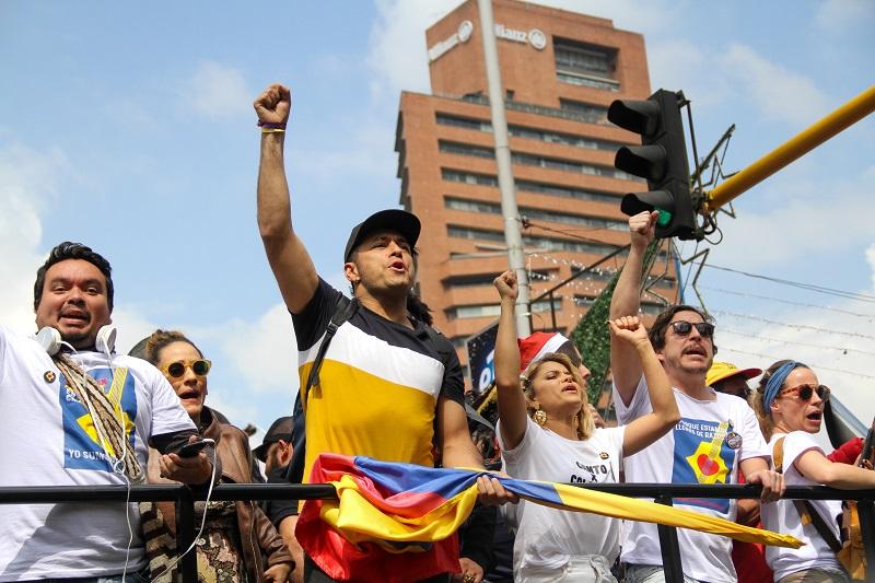 'Un canto x Colombia' en Bogotá