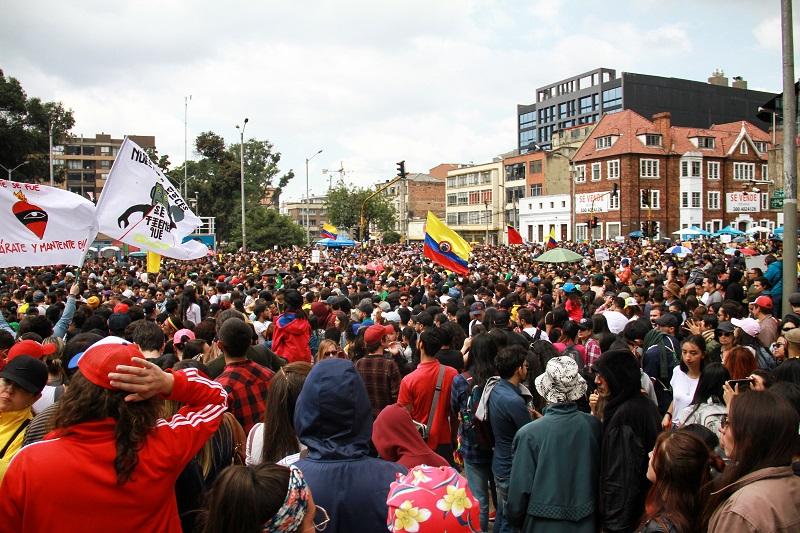 'Un canto x Colombia' en Bogotá.