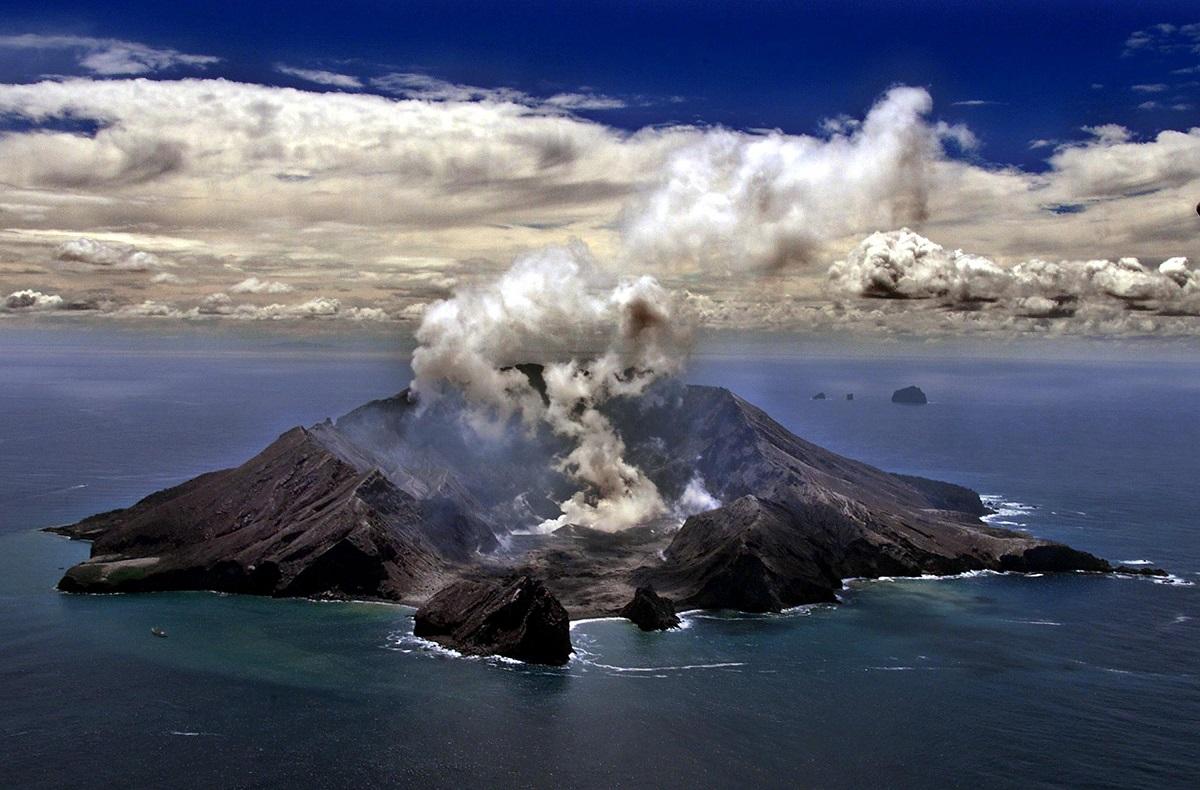 White Island, en foto tomada en 1999