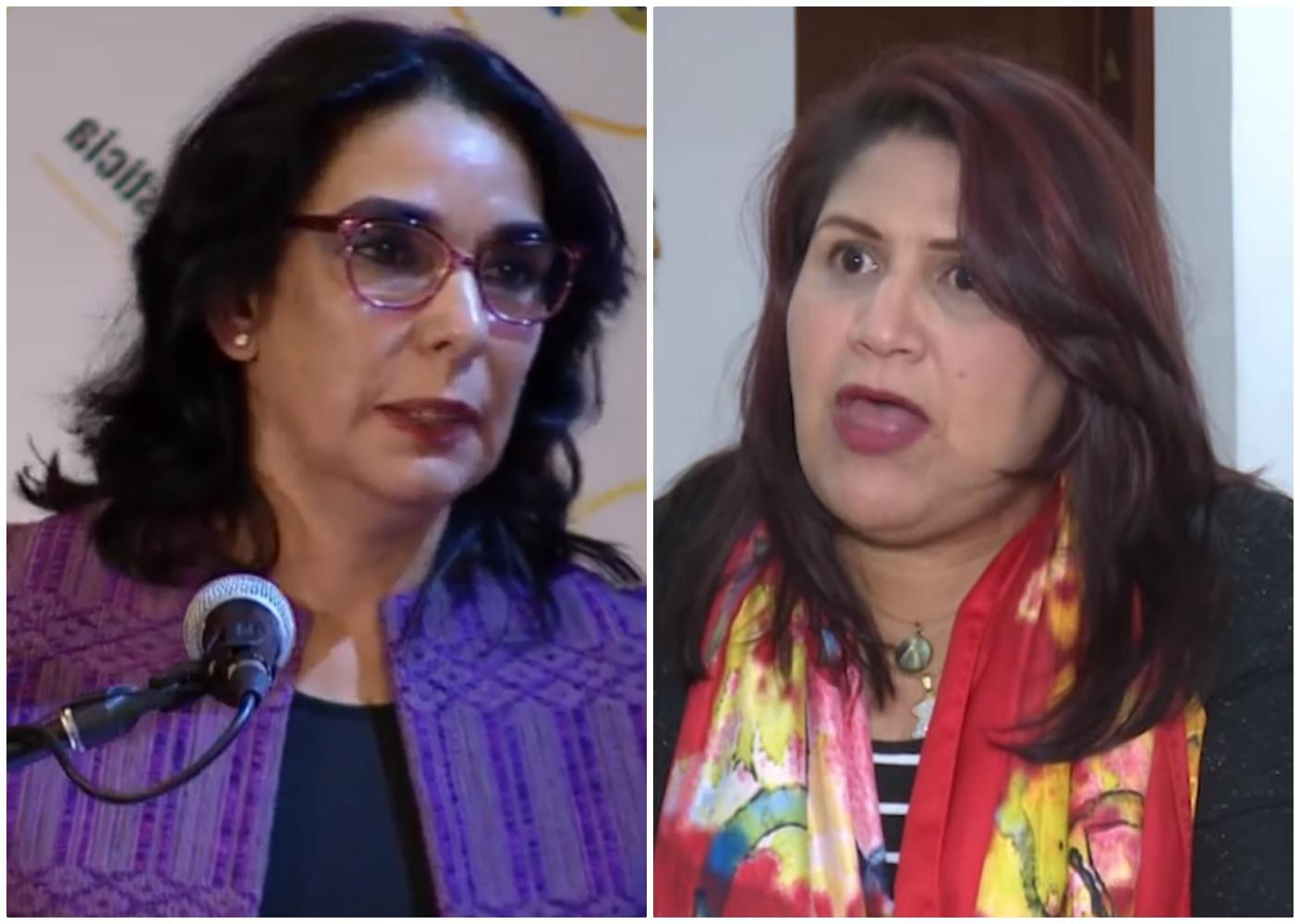 Clara María González y Yidis Medina