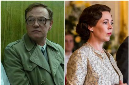 Jared Harris, de 'Chernobyl' / Olivia Colman de 'The Crown'