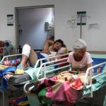 Venezolanos en hospital de Cúcuta