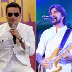 Silvestre Dangond y Juanes, cantantes.