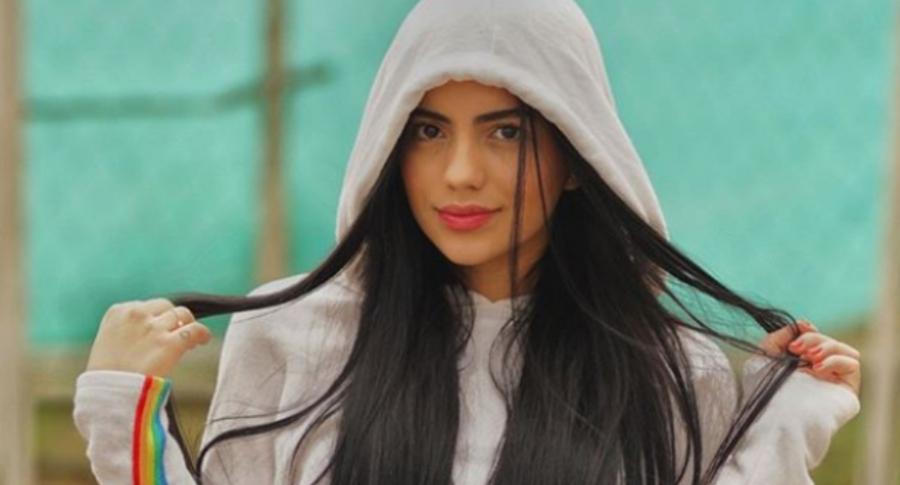Luisa Castro, novia de 'La Liendra'.
