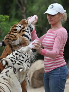 Cría tigres y te clavarán las garras: felinos atacaron a mujer que siempre los ha cuidado