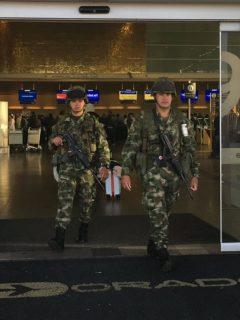 ¿Por qué el aeropuerto El Dorado amaneció militarizado?