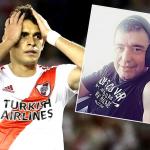 Rafael Santos Borré y Atilio Costa Febre